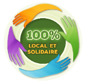 100% local et solidaire